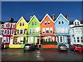 J4791 : Houses on Marine Parade, Whitehead by Gareth James
