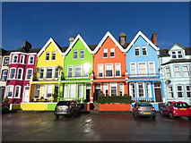 J4791 : Houses on Marine Parade, Whitehead by Gareth James