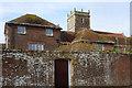 SY9287 : Abbots Quay & Holy Trinity, Wareham by Derek Harper