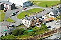 SH5831 : The Queens Hotel from Harlech Castle by Jeff Buck