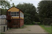 SK1461 : Hartington Signal Box by Chris Heaton