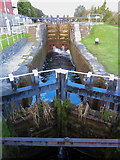 O1132 : Lock on the Grand Canal at Blackhorse by Gareth James