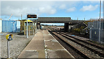 ND1559 : Looking east from Georgemas Junction Station by John Lucas