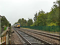 SE4432 : Train approaching Peckfield crossing by Stephen Craven