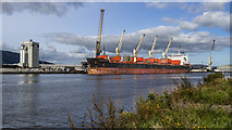 J3576 : The 'Serene Jessica' at Belfast by Rossographer