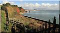 SX9675 : Horse Rocks from the coast path by Derek Harper