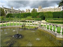 SP0327 : The gardens of Sudeley Castle by Philip Halling