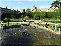SP0327 : Garden at Sudeley Castle by Philip Halling