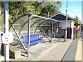 TL7818 : Seat & Cycle Park at White Notley Railway Station by Adrian Cable