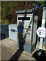 TL7818 : Ticket Machine at White Notley Railway Station by Adrian Cable