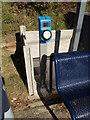 TL7818 : Card Reader at White Notley Railway Station by Adrian Cable