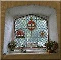 SH7352 : St Gwyddelan: North window by Gerald England