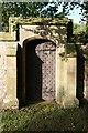 SJ2926 : Sweeney Hall: Garden Gate by Bob Harvey