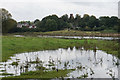 SJ9322 : Flooding by the River Penk by Bill Boaden
