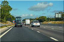 SJ7758 : Betchton : M6 Motorway by Lewis Clarke