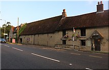TL0156 : The Queen's Head Hotel, Milton Ernest by David Howard