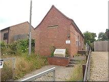 SK9924 : Corby Glen Telephone Exchange, Lincs by David Hillas