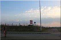 TL0250 : Site entrance on the A6, Biddenham by David Howard