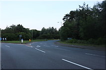 TL0837 : Roundabout on Bedford Road, Clophill by David Howard