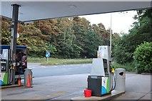 TL0837 : Petrol station on Bedford Road, Clophill by David Howard