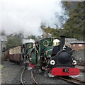 SH6945 : Arriving at Blaenau Ffestiniog by Gerald England
