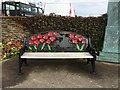 SC3875 : Remembrance seat, Douglas Isle of Man by Richard Hoare