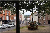 SS9512 : Tiverton: looking down Angel Hill by Martin Tester