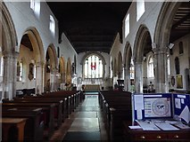 TQ3581 : Interior of St Dunstan's Church, Stepney by Marathon
