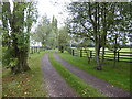 TL7031 : Driveway to Cottage Farm by Marathon