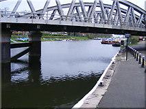 TF3244 : Railway Bridge over the River Witham, Boston by Alex Passmore