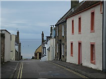 NT4999 : Houses in School Wynd, Elie by Alex Passmore
