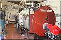 SN2949 : Internal Fire Museum of Power - boiler house by Chris Allen