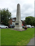SP2382 : The Cyclists' War Memorial, Meriden by Richard Law
