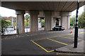 TL2371 : Under Huntingdon Viaduct by Hugh Venables