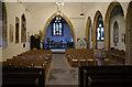 ST2952 : Church of Saint Mary, Berrow: Pews and chairs by Bob Harvey