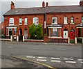 SJ2863 : Late Victorian brick houses, Brunswick Road, Buckley by Jaggery