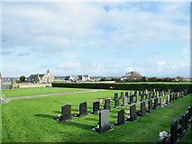 SH3568 : Cemetery at Aberffraw by Trevor Littlewood