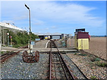 TQ3203 : Leaving Halfway Station, Volks Electric Railway by Ruth Sharville
