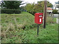 TL6484 : Railway Tavern Postbox by Adrian Cable