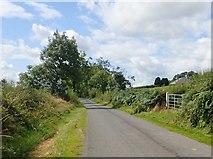 H8920 : View West along Lisleitrim Road by Eric Jones