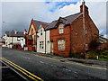 SJ2863 : Derelict corner house, Brunswick Road, Buckley by Jaggery