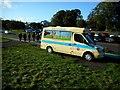 NT2773 : Ice cream van beside Queen's Drive by Richard Sutcliffe