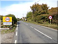 TL9227 : Entering Fordham on Mill Road by Adrian Cable