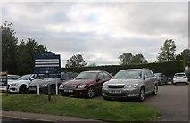 TL2870 : Hemington Pavilion car park by David Howard