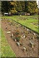 TQ4286 : Memorial rose bed, City of London Cemetery by Derek Harper