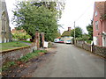 TL9332 : Church Road, Wormingford by Geographer
