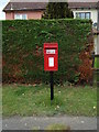 TL9331 : Wormingford Post Office Postbox by Adrian Cable