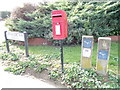 TL9033 : Normandie Way Postbox by Adrian Cable