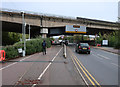 TL2371 : B1514 under A14 Huntingdon Flyover by Hugh Venables