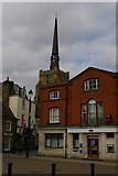 TM0458 : Market Place, Stowmarket by Christopher Hilton